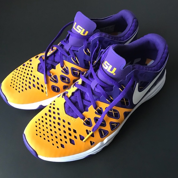 c1fc5f5cc26bc2 NIKE LIMITED EDITION LSU TIGERS TRAIN SPEED SHOES
